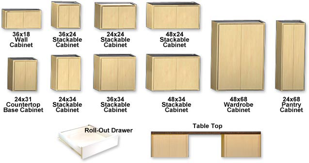Modular Storage Cabinets Endless Possibilities.